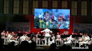 Празднование 70-летия Победы  на площади Дворца Заппион