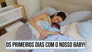 ★ OS NOSSOS PRIMEIROS DIAS COM O BEBÊ RECÉM NASCIDO EM CASA || GRINGA BRASILEIRA