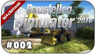 Baustellen Simulator 2016 #002 - Schweres Gerät hängt ★Construction Machines Simulator 2016