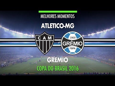 Melhores Momentos - Atlético-MG 1 X 3 Grêmio - Final Copa Do Brasil - 23/11/2016 - Globo HD