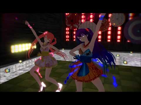 MMD Killer Lady - Mäggie & Yui [OCs]
