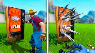 *INSANE* VENDING MACHINE TRAP TROLL! - Fortnite Fails & Epic Wins #81