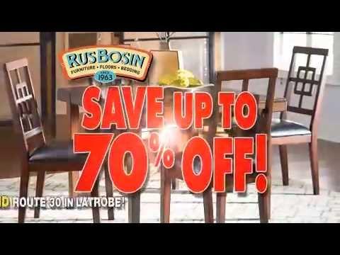 Rusbosin Furniture Greensburg Closing Liquidation   Duration: 31 Seconds.