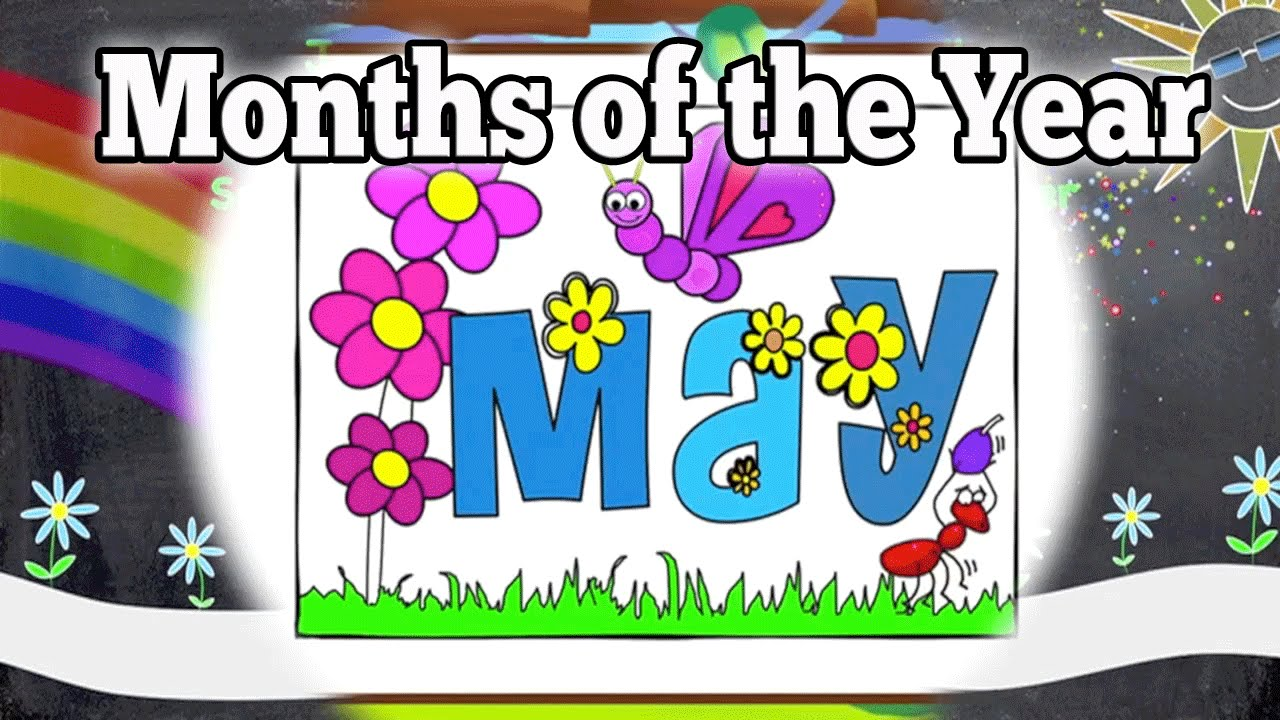 Months of the Year Song | Kids Sing-Along | Fun Learning | Good for ...