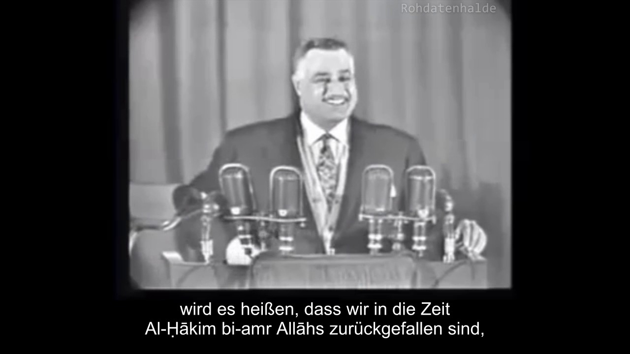 Islamisierung: Als arabische Muslime noch über die Vorstellung eines Kopftuchzwangs lachtenyoutube.com