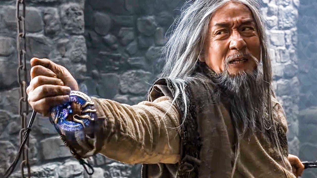 Download Jackie Chan vs Arnold Schwarzenegger Prison Escape Scene - THE IRON MASK (2020) Movie Clip