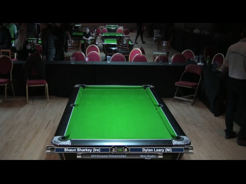 2019 Mens  European Championships - Shaun Sharkey (Ire) v Dylan Leary (NI)