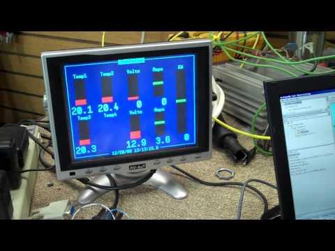 EV Battery Monitoring System