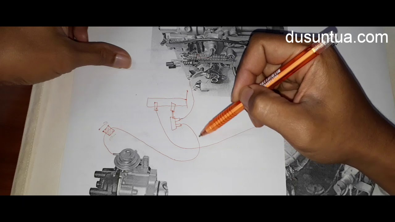 4g15 Vacuum Schematic For Distributor Advance Youtube