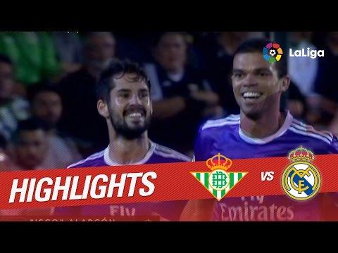 Resumen de Real Betis vs Real Madrid (1-6)