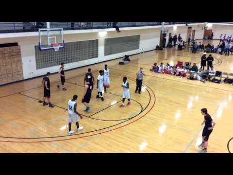 Midland Adventist Academy Basketball 2015 Tournament Game 2 4/8