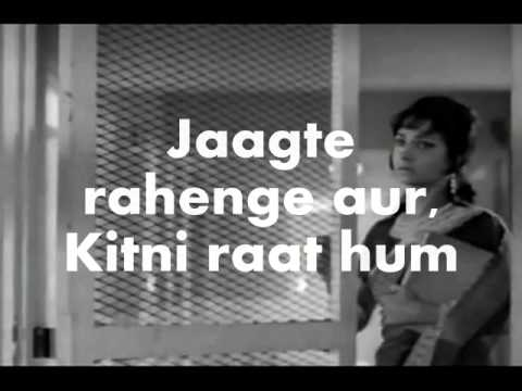 Tum Pukar Lo-Karaoke & Lyrics-Khamoshi