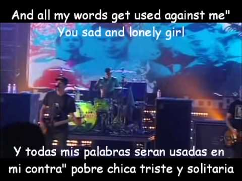 +44-Baby Come on Lyrics y Subtitulos LIVE 2006