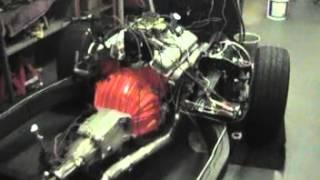 Willcox Corvette 63-72 Corvette N11 Exhaust Installed on a 65 H/P S/B Restored Frame.