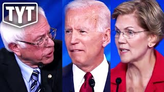 Warren and Bernie Tag Team Biden on Medicare For All