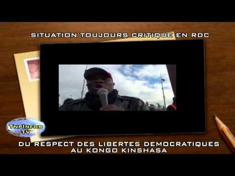 République démocratique du Congo: Situation toujours Critique