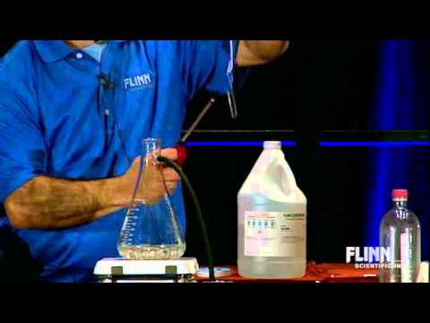 Burning Magnesium In Steam | Morning Of Chemistry 2013