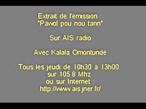 Omontude sur AIS radio (Guadeloupe)