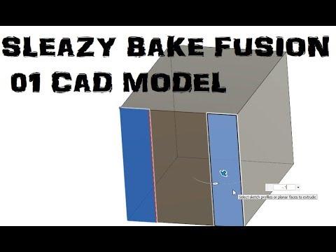 Speedy Fusion 360 tutorial Ep. 01 CAD
