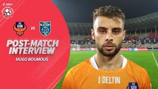 Hugo Boumous Reviews The Match Against Kerala Blasters FC | Hero ISL 2019-20
