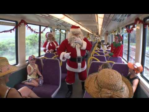 Merry Christmas from Queensland Rail