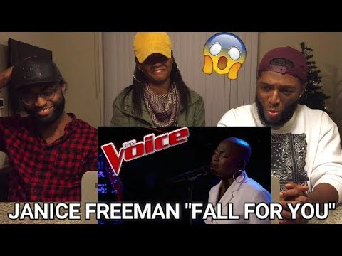 The Voice 2017 Janice Freeman  The Playoffs: Fall for You REACTION
