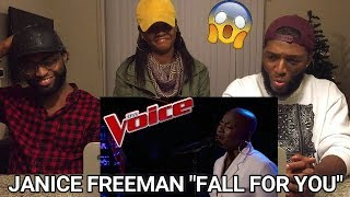 """The Voice 2017 Janice Freeman - The Playoffs: """"Fall for You"""" (REACTION)"""