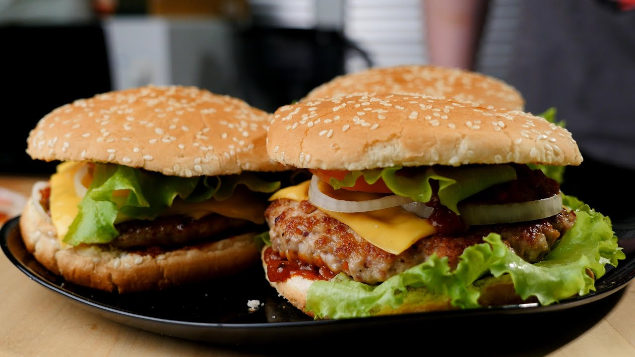 гамбургер рецепты на английском с фото