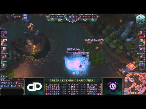 Riot Greek Legends Final 2014 - Part 2 - VG vs DD