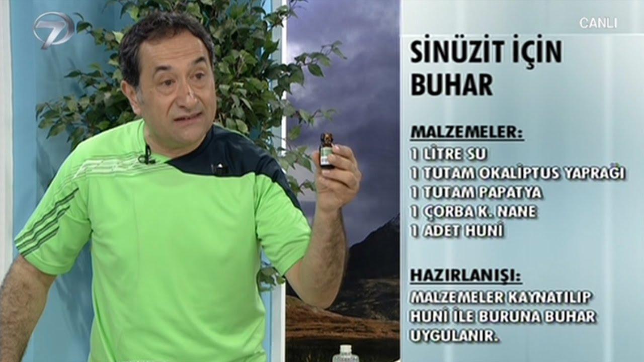 Sinüzit tedavisinde bitkisel yöntemler