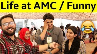 Life at AMC Asking Weird Questions in Public in Pakistan | Funny Video | Azhar Rafi Vlogs