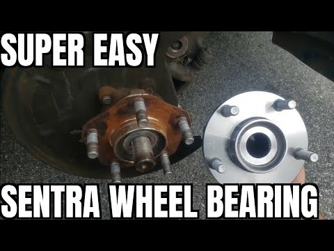 How to Replace Wheel Bearing 13-19 Nissan Sentra