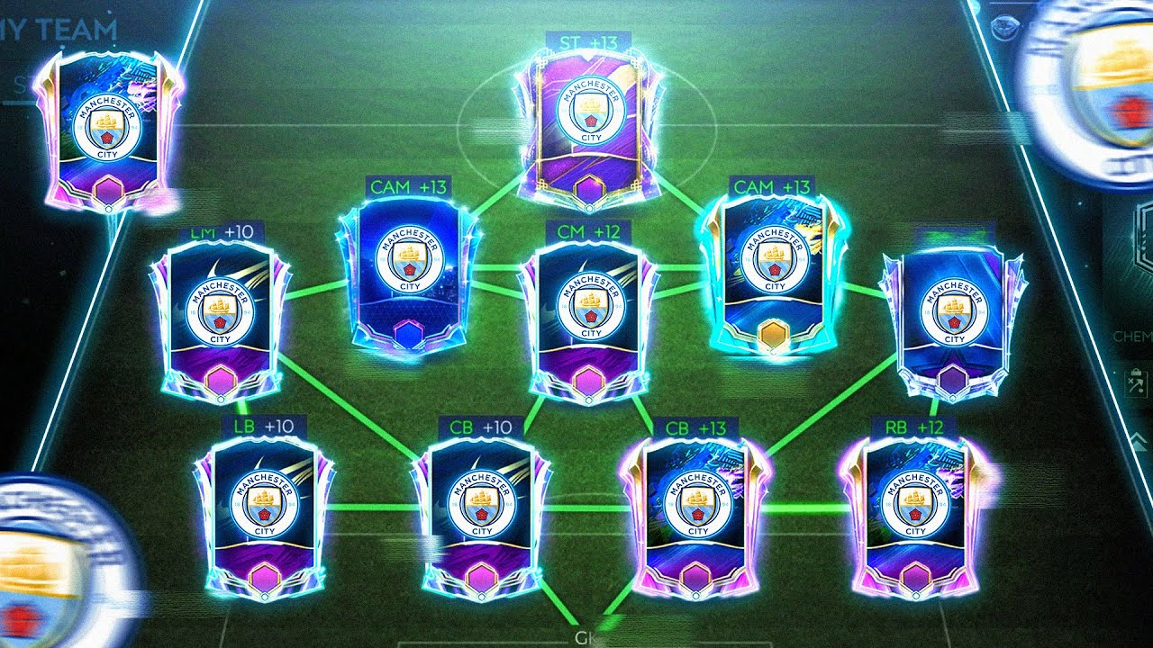 200 MILLION FULL MANCHESTER CITY SQUAD BUILDER | FIFA MOBILE 21 SQUAD BUILDING |