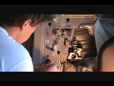 Honda Odyssey Sliding Door Handle Repair Part 2 Youtube