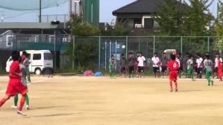 2014-10-04 県3部リーグ 岡崎城西高校 vs 愛知黎明高校 前半