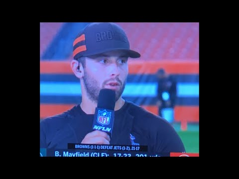 Cleveland Browns Win, Baker Mayfield v Oakland Raiders Next, Las Vegas Update Livestream