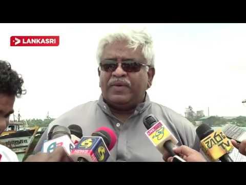 Minister Arjuna Ranatunga at Jaffna Harbour Office Opening