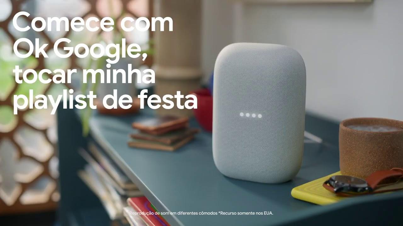 Este é o Nest Audio do Google