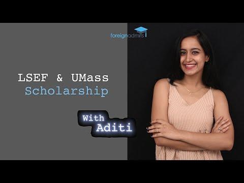 LSEF & UMass Scholarship [ForeignAdmits]
