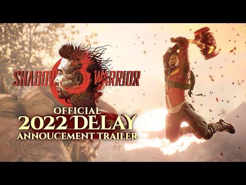 Shadow Warrior 3 – Verschiebung des verrückten Ego-Shooters wird per neuem Trailer mitgeteilt