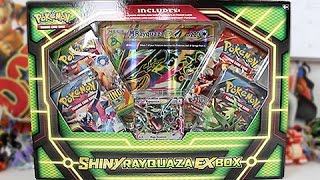 Opening A Pokemon Shiny Rayquaza EX Box!