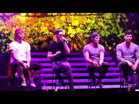 Love Sewn (Acoustic Set) - The Wanted - Live in Mexico City - December 2014