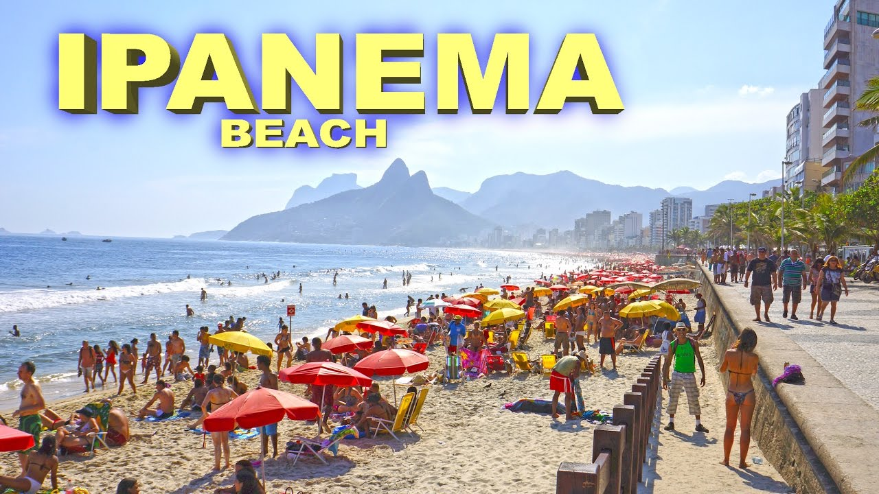 ipanema beach hd - youtube