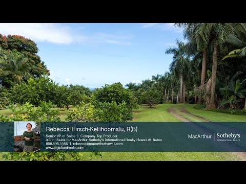 What's Shakin'? Live, farm and thrive on the Big Island of Hawaii! MLS 286290
