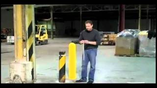 How to Install a Bollard Cover | Kleen-Rite