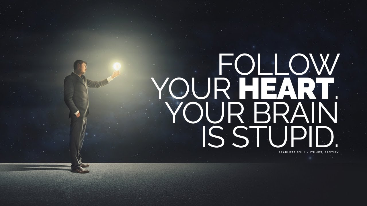 Follow Your Heart Your Brain Is Stupid And Here S Why