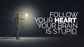 Follow Your Heart... Your Brain Is Stupid