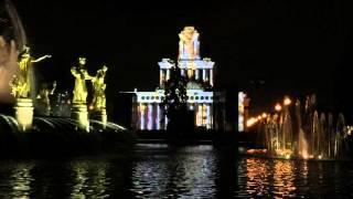"""Фестиваль """"Круг света 2015"""", световое шоу, ВДНХ"""