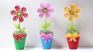 Flor de Garrafa Pet por Show de Artesanato