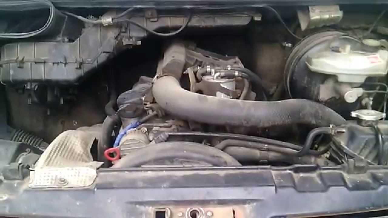 сильная вибрация двигателя на холостом ходу мерседес вито